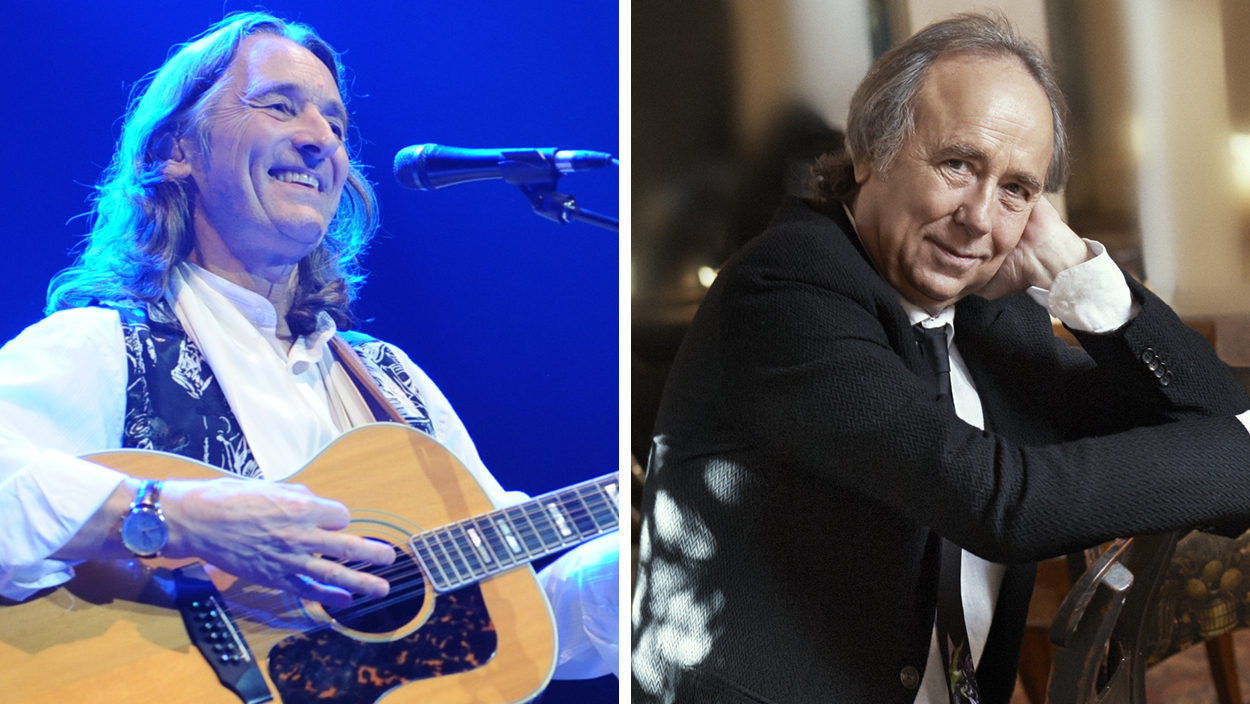 Serrat and  Roger Hodgson this summer in Festival de Peralada