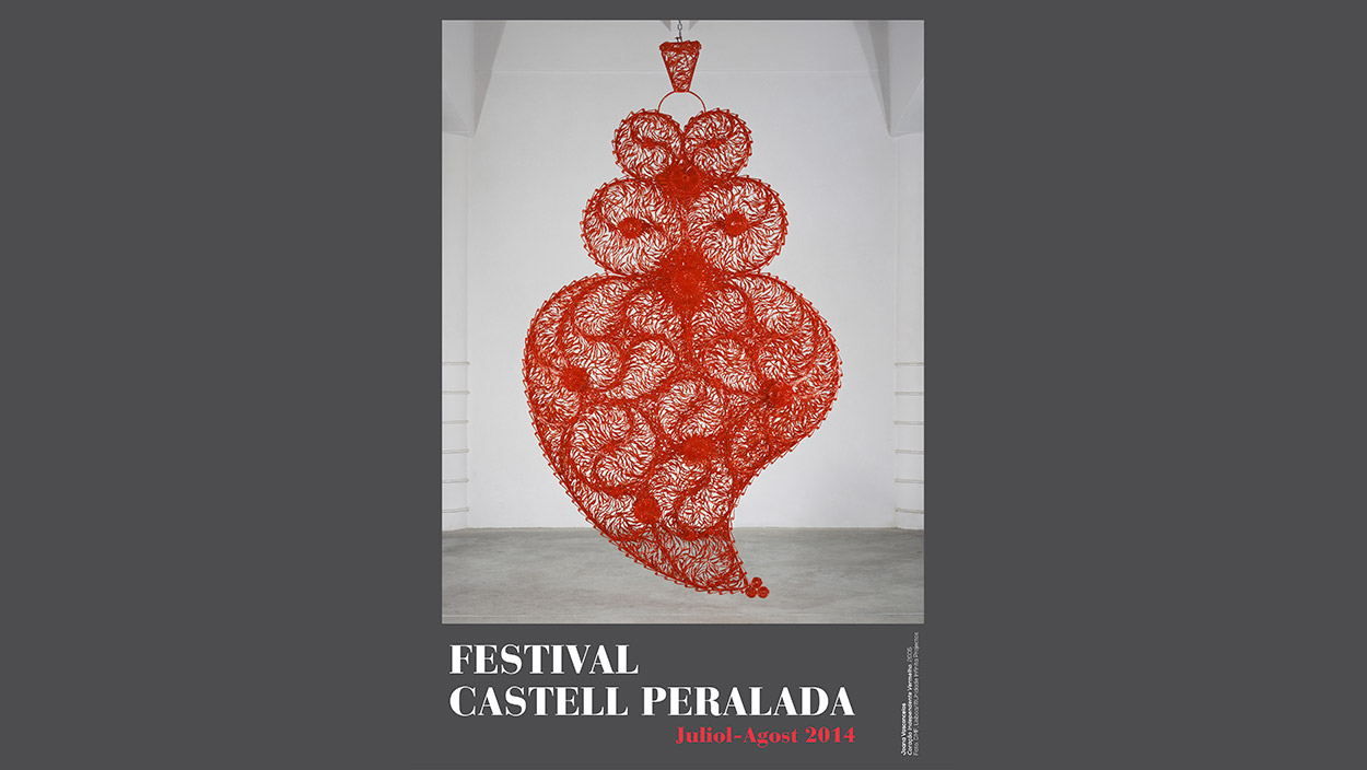 Joana Vasconcelos, the image of the 28th edition poster